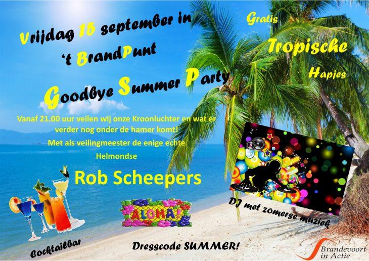 Goodbye Summer Party in 't BrandPunt