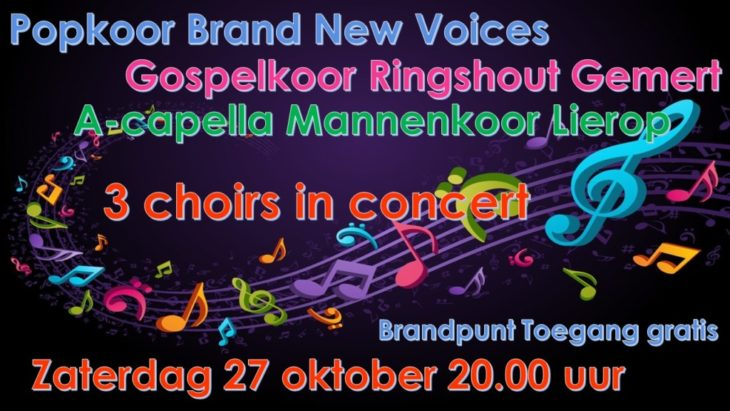 Brand New Voices: 3 choirs in concert