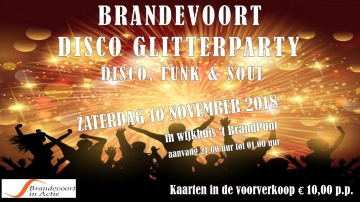 Glitterparty in 't BrandPunt