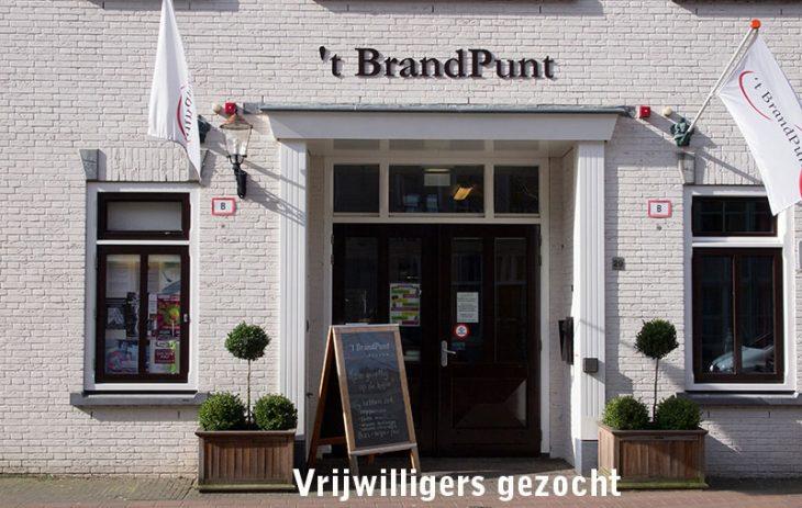 Oproep voor vrijwilligers in Wijkhuis 't BrandPunt