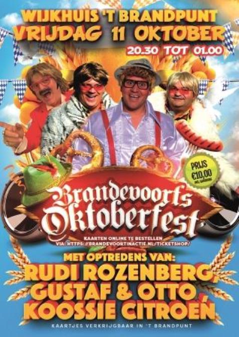 Oktoberfest in 't BrandPunt!