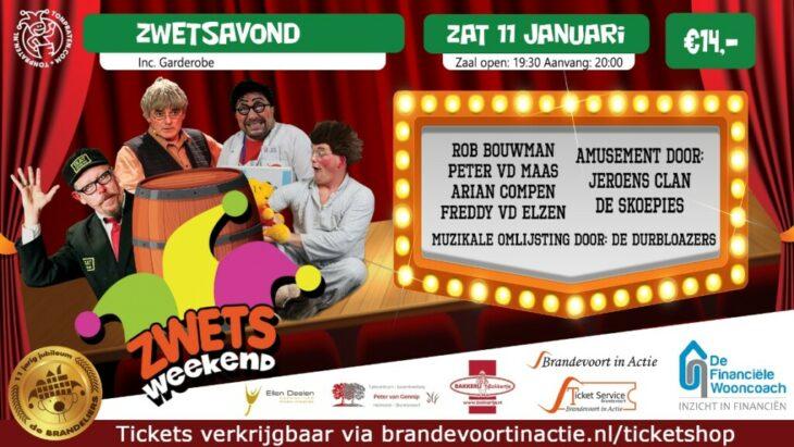 Zwetsavond in Hoftempel 't BrandPunt
